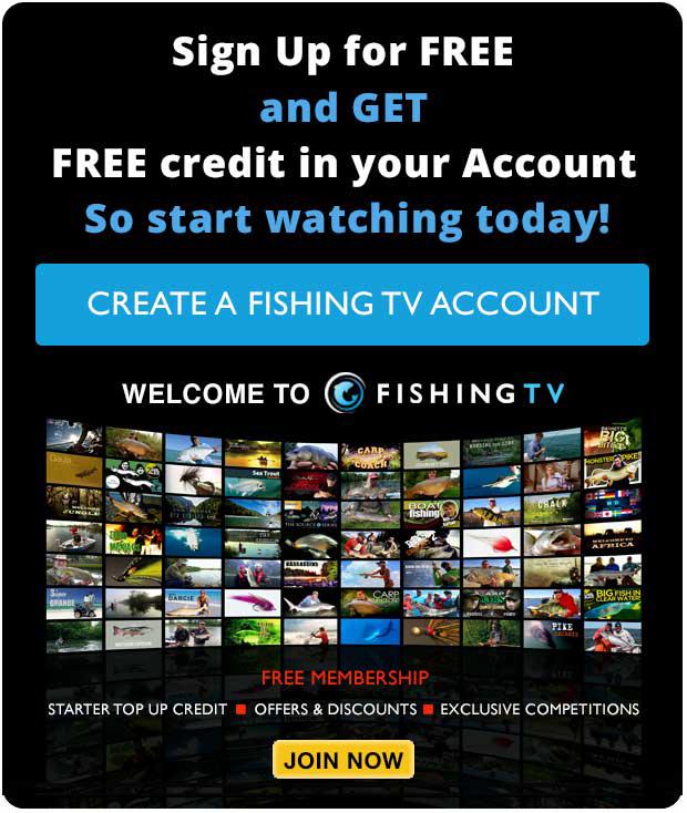 Login - Fishing TV